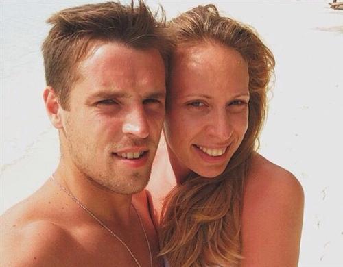 Кирилл Комбаров с женой