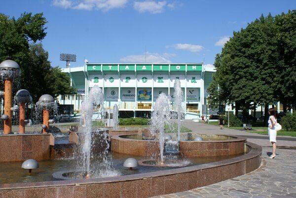 Вход stadium Vorskla Полтава фото
