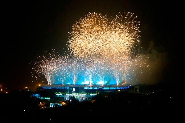 Открытие The Stadium Chernomorets Odessa фото с праздника