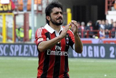 Гаттузо прощание с Миланом фото