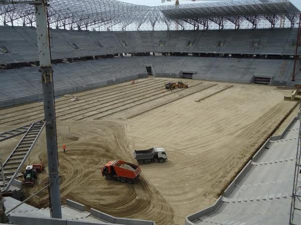 Arena Lvov строительство фото