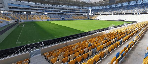 Arena Lvov поле трибуны фото