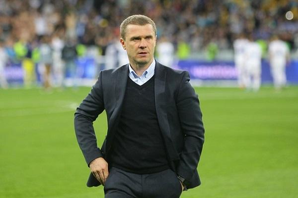 Sergej Rebrov тренер Динамо Киев фото