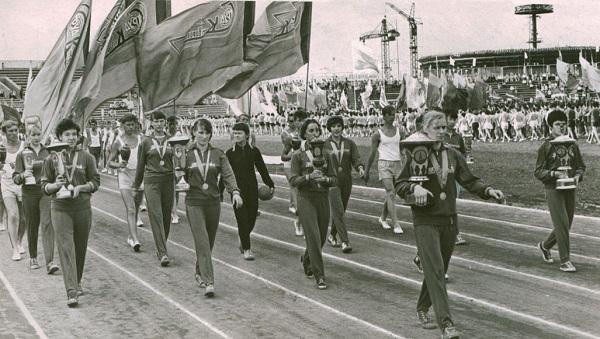 Стадион Центральный Казань в 60-е годы