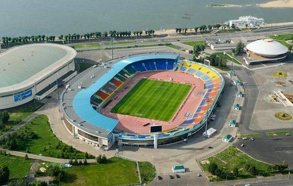 Центральный стадион Казань - фото история