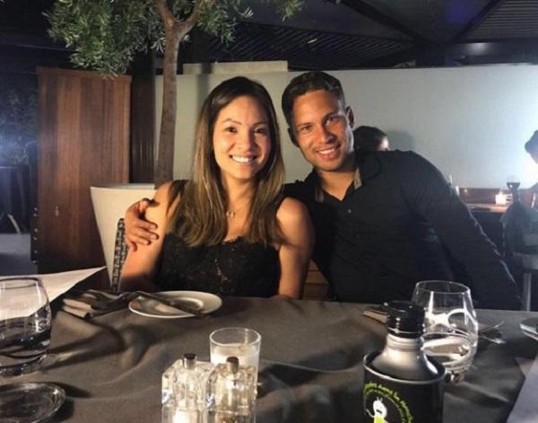Марлос с женой Анной
