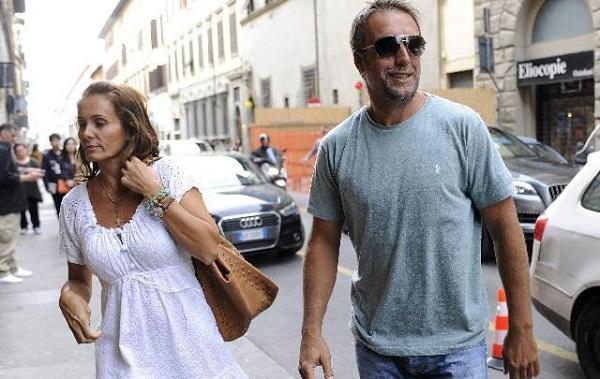 Gabriel Batistuta с женой Ириной совместное фото