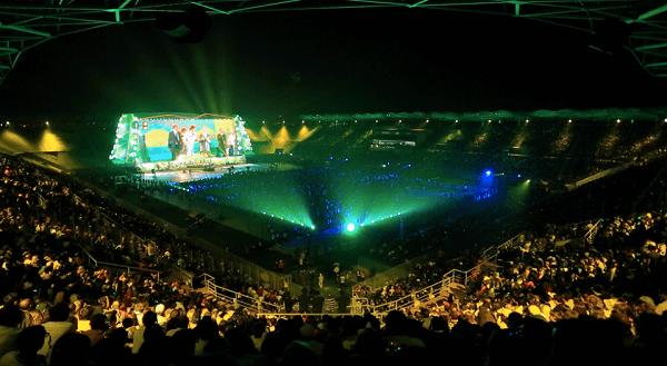 Открытие Anji Arena после реконструкции фото