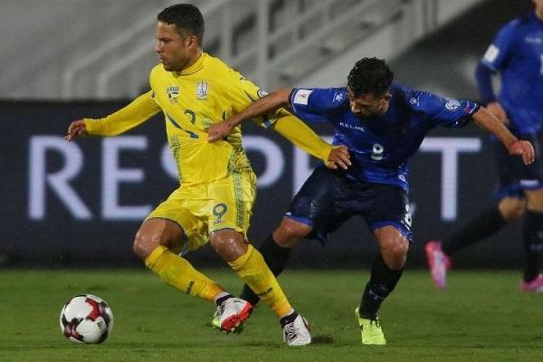 Marlos в сборной Украины фото
