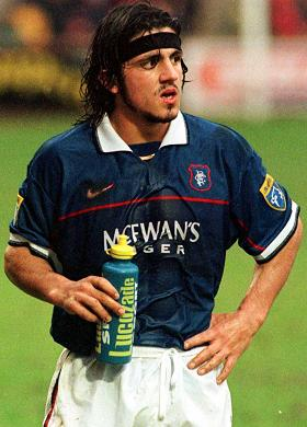 Gattuso в Рейнджерс фото
