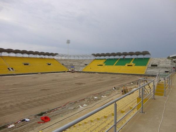 Реконструкция Anji Arena фото