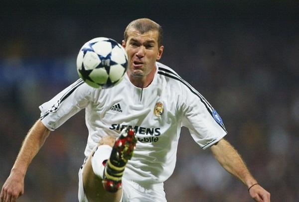 Zidane в Реал Мадрид