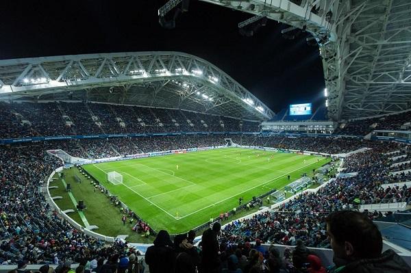 Трибуны stadium Fischt фото
