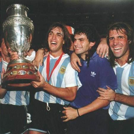 Batistuta в сборной Аргентины фотография