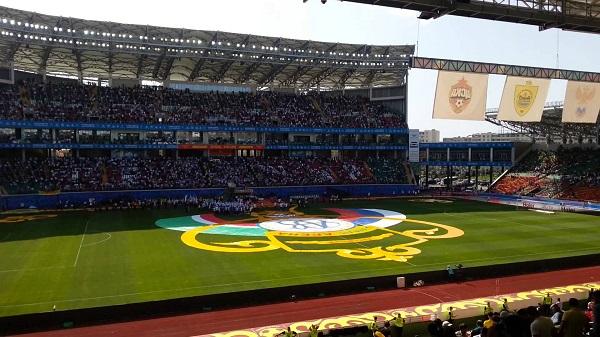 Финал Кубка России на Ахмат Арене