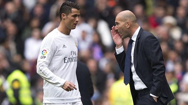 Зидан тренер мадридского Реала