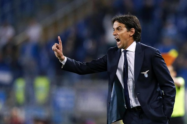 Simone Inzaghi тренер Лацио фото