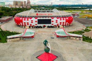 История стадионов России