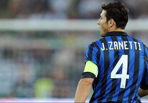 Javier Zanetti в Интере фото