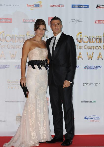 Эрнан Креспо с женой