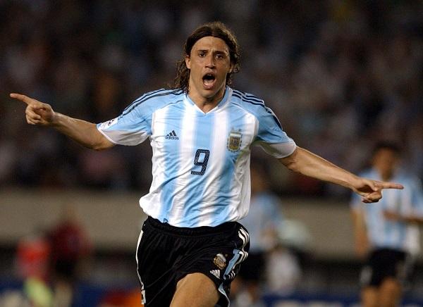 Креспо в сборной Аргентины