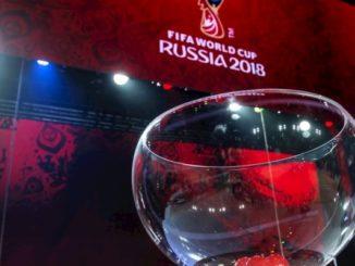 Жеребьевка Чемпионата мира 2018