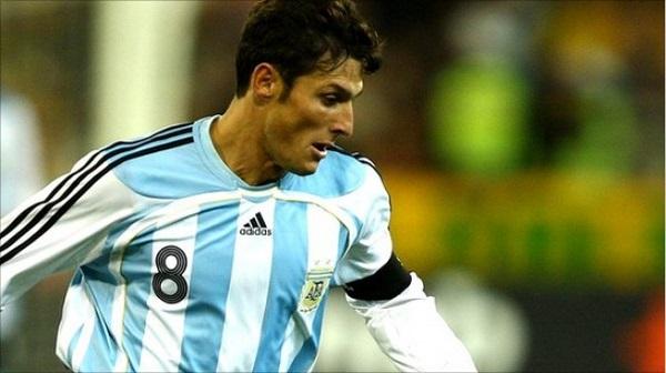 Zanetti в сборной Аргентины фотография