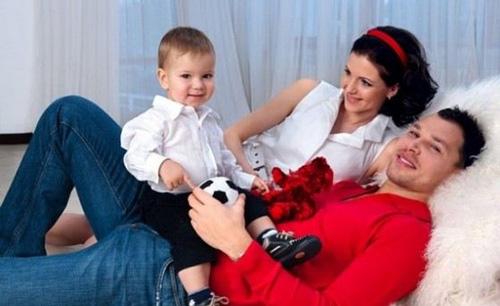 Игнашевич в кругу семьи