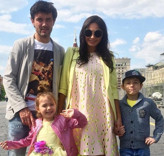 Юрий Жирков и его семья фотография
