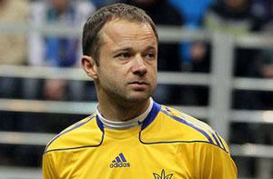 Parfenov играет за сборную Украины