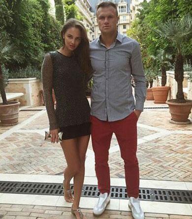 Vyacheslav Shevchuk и его супруга Инна совместное фото