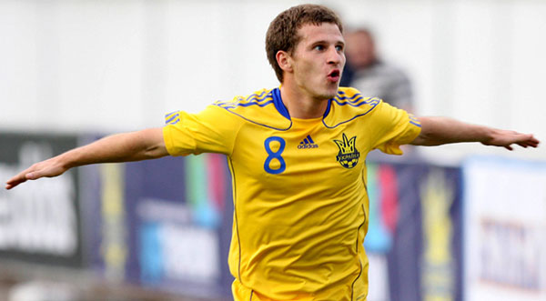 Aleksandr Aliev в сборной Украина фото