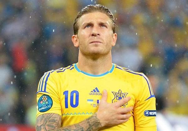 Andrej Voronin в составе Украины - фото