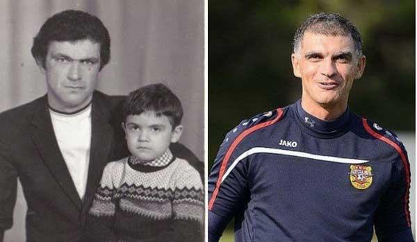Владимир Габулов в детстве с отцом фото