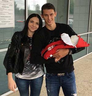 Ilya Kutepov и его жена Диана совместное фото