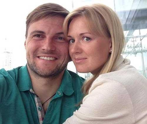 Granat и его жена Екатерина совместное фото