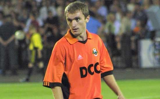 Andrey Vorobey - в донецком Шахтере фото