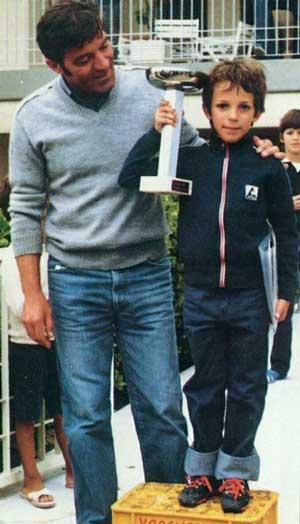 Алессандро Дель Пьеро в детстве фото