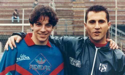 Алессандро и его наставник Ди Ливио фото