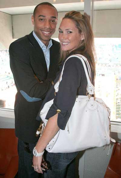Terri Anri и его бывшая жена Николь Мэрри фото
