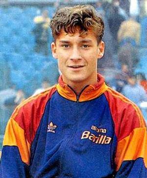 Franchesko Totti - начало карьеры фото