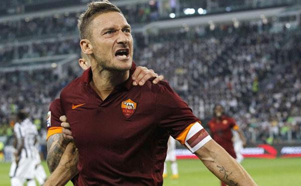 Totti лучший бомбардир чемпионата Италии