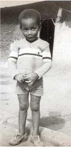 Дрогба в детстве - фотография