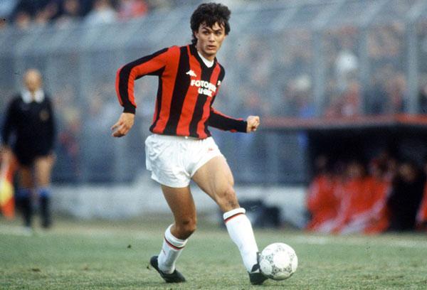 Рассцвет футбольной карьеры у Паоло Мальдини