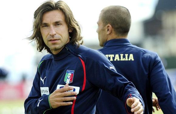Andrea Pirlo в составе сборной фото
