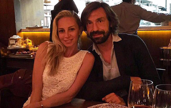 Новая любовь Andrea Pirlo - Валентина совместное фото