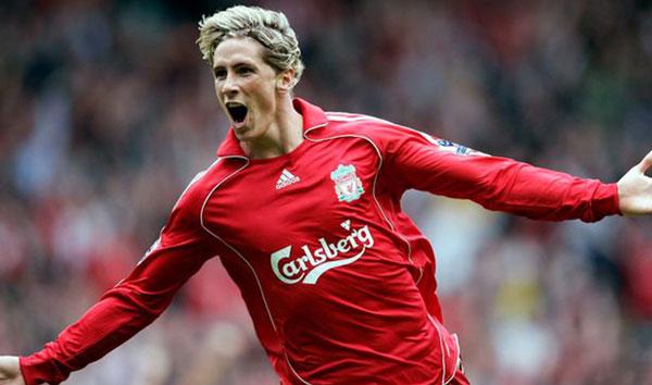 Fernando Torres в составе англичан - фотография