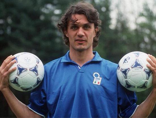 Paolo в сборной Италии - фото