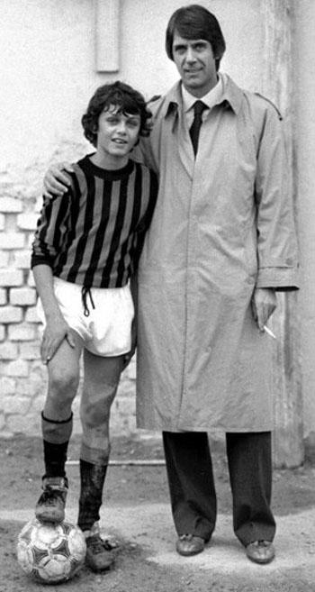 Паоло с отцом совместное фото