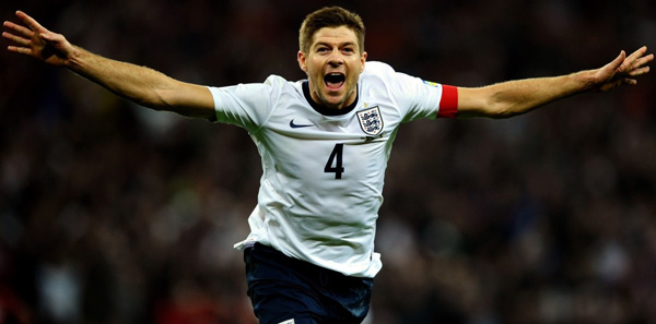 Dzherrard выступает за сборную Англии